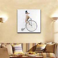 YHHP Ручная роспись животного маслом Картина для верховой езды 60 x 60 см