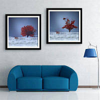 Специальная конструкция Каркасная картинка Мангровая печать 2PCS 16 x 16 дюймов (40cм x 40cм)