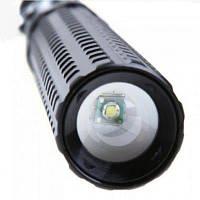 HKV XPE 6000K Телескопический зум-фонарь для фонаря самообороны холодный белый