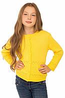 Детская кофта Юна желтый