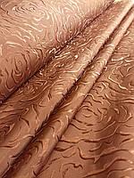 Портьерная жаккардовая ткань с узором в гостиную, ширина 1,5