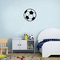 Kid-3 Творческий футбольный виниловый стикер стены для детской комнаты Спальня Home Decor 15 x 15cм