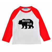 SOSOCOER Детская одежда 2-7T Медведь и Алфавит с длинными рукавами Футболки 90