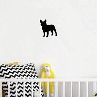 Собака-44 пограничной колли собака стены стикер Креативные мультфильм животных виниловые наклейки стены для детей 10x10cм