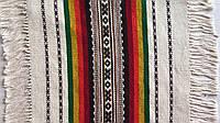 Серветка доріжка ткана шерсняна на стіл ручної роботи 40*40 см