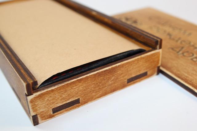 Деревянные коробки для упаковки товаров и подарков.