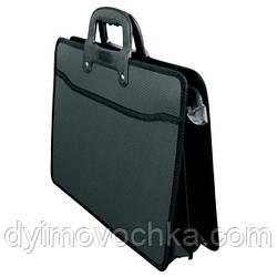 Портфель F/C 2 отд. D1950 черный