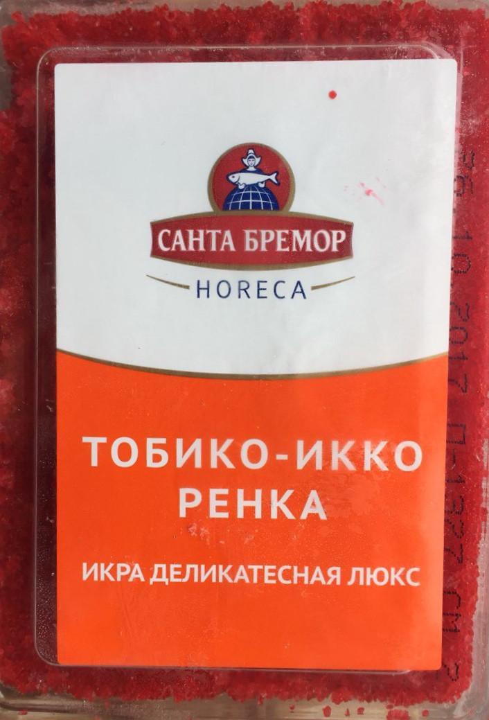 Икра Тобико Икко Ренка (красная) 0,5 кг   А-0107