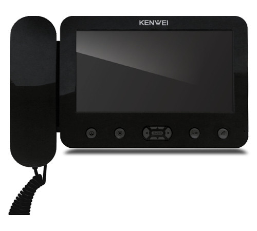 Цветной домофон Kenwei E705FC (black)