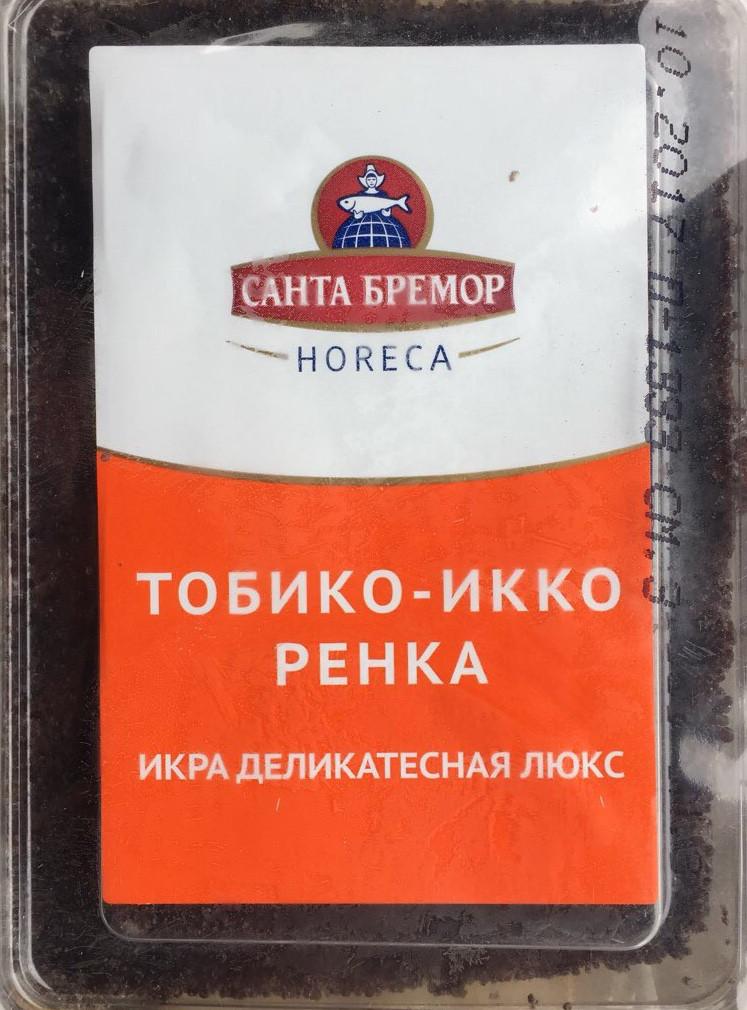 Икра Тобико Икко Ренка (черная) 0,5 кг   А-0109