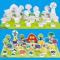 Счастливый дошкольного образования Big House цвет
