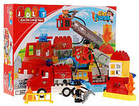 """Конструктор JDLT 5152 (аналог Lego Duplo) """"Пожарная машина"""" 36 дет"""