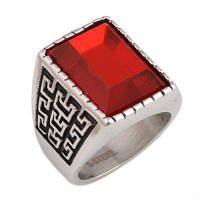 Сапфировое кольцо для дизайнов нового элегантного мужского стиля 7