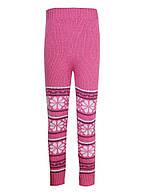 Вязаные гамаши Ализе светло-розовый