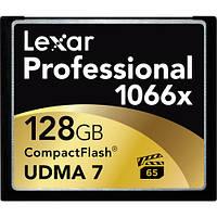 Карта памяти Lexar 128GB Professional 1066x Compact Flash Memory Card (UDMA 7)