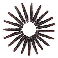 20 Roots / Pack Вязание крючком Прыжки Spring Twist Синтетические наращивания волос градиентный цвет от черного к вино-красному