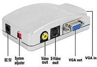 Конвертер VGA на AV
