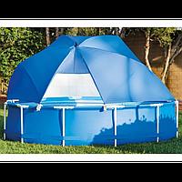 Солнцезащитный навес Intex 28050 для каркасных бассейнов диаметром от 366 до 549 см, фото 1