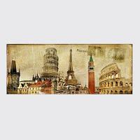 QiaoJiaHuaYuan No Frame Canvas Europe Card Room Диван Украшение для дома украшает картину Цветной