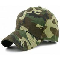Простой шаблон для камуфляжа Украшенная регулируемая бейсбольная кепка ACU Камуфляжный