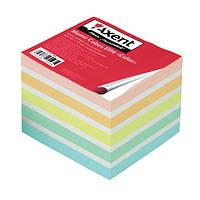 Блок для заметок 90*90*40 мм не проклеенный  Axent Ellite Color 8026-A