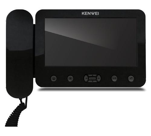 Цветной домофон Kenwei E705C-W200(black)