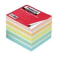 Блок для заметок, 90*90*40 мм проклеенный Axent Ellite Color 8027-A