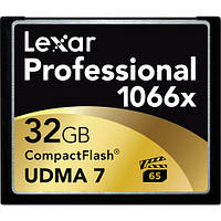 Карта памяти Lexar 32GB Professional 1066x Compact Flash Memory Card (UDMA 7)
