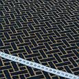 Гобелен ткань, геометрия, тёмно-синий, фото 3