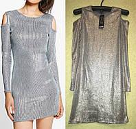 Молодежное Стильное Короткое Платье бренд Boohoo, размер S