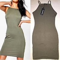 Модное Стильное Платье на каждый День бренд Boohoo оригинал, размер XS