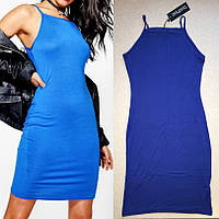 Красивое Удобное Легкое Платье на бретелях Boohoo оригинал, размер XS