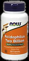 Ацидофилин два миллиарда / NOW - Acidophilus Two Billion (100 caps)