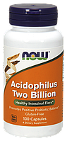 Ацидофилин два миллиарда / NOW - Acidophilus Two Billion (100 caps)