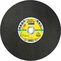 Диск отрезной для резки рельс 350х4х25,4 A24SX Klingspor