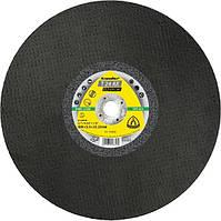 Отрезной диск для резки рельс 350х4х22 T24AX Klingspor