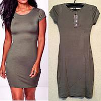 Недорогое Стильное Обтягивающее Платье бренд Boohoo оригинал, размер S