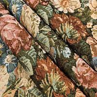 Гобелен ткань, букет из цветов
