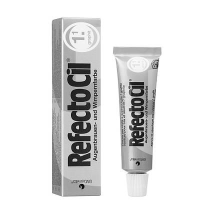 Краска для бровей и ресниц Refectocil №1.1 - графит,15 мл, фото 2