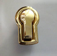 Замок для ж.сумки цвет золото 30 х 45 мм.