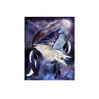 Naiyue 7048 Crow Print Draw Алмазный рисунок Цветной