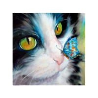 Naiyue 9526 Butterfly Cats Print Draw Алмазный рисунок Цветной