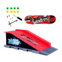 Набор игрушек для профессиональных скачек Fingerboard В