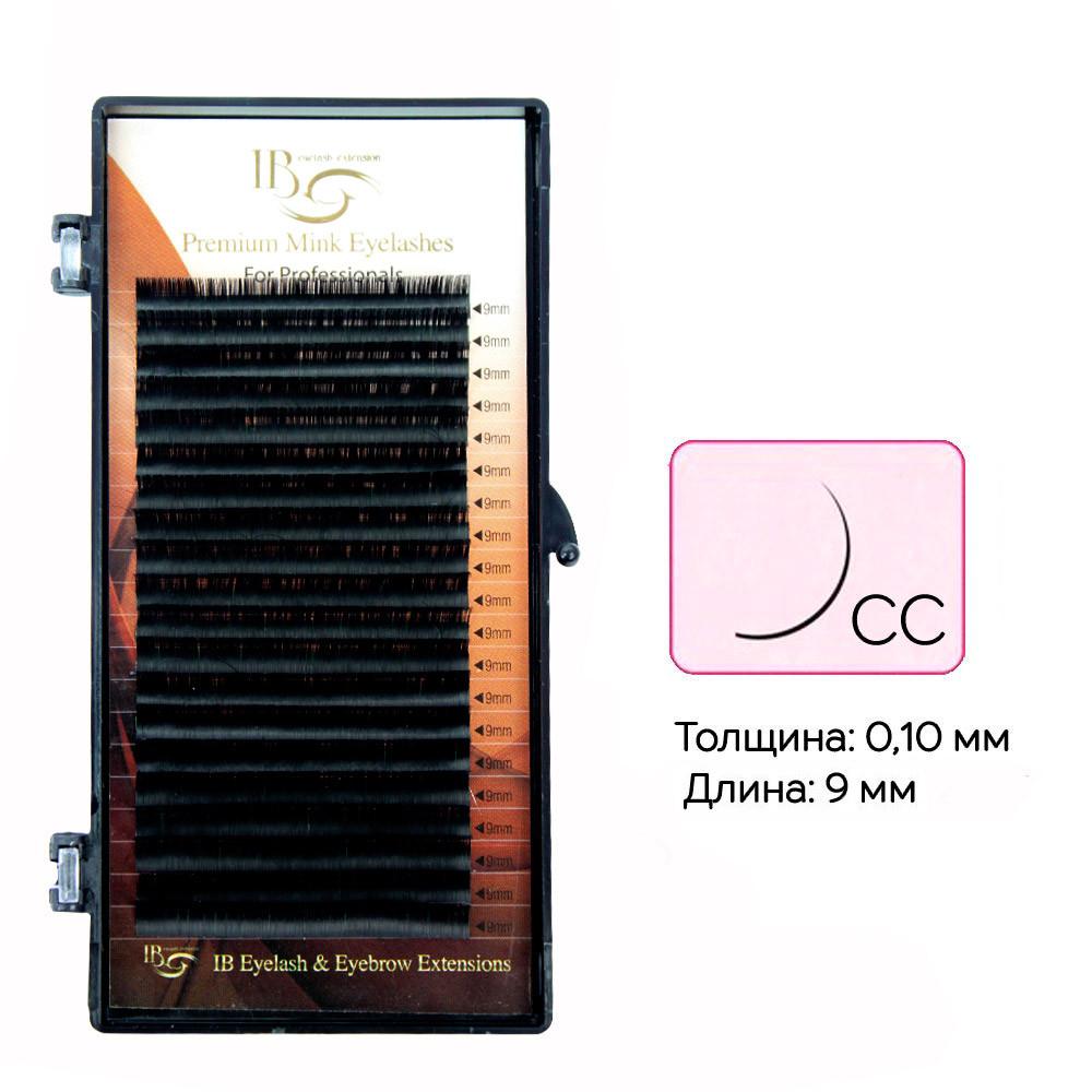 Ресницы I-Beauty на ленте CC 0.1 - 9 мм