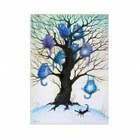 Naiyue 9580 Животные Деревья Печать Ничья Алмазный рисунок Цветной