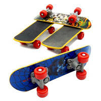WUIBN Desk Fingerboard Скейтборд Finger Toy 1pc Цветной