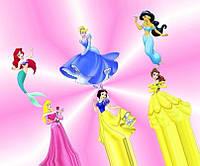 Вафельная картинка Принцессы А4 (код 01262)