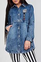 Куртка женская джинсовая
