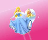 Вафельная картинка Принцесса А4 (код 01262)