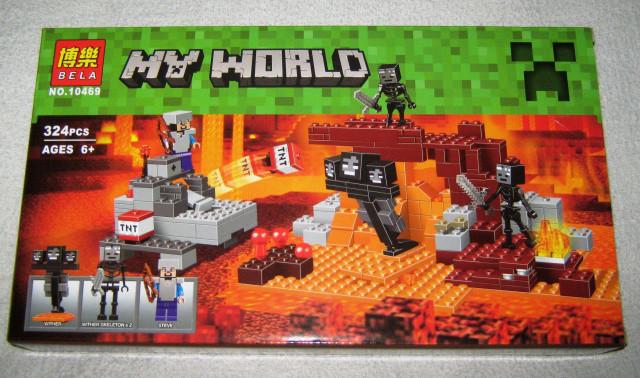 Конструктор Bela 10469 Майнкрафт Minecraft Иссушитель 324 дет